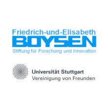 Logos der Boysen Stiftung und Vereinigung der Universität Stuttgart Freunde